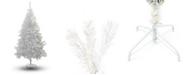 Perfect Holiday 7' Crystal White Christmas Tree