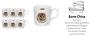 "Royal Worcester  Wrendale 11 oz. Porcupine Mug ""Awakening"" - Set of 6"