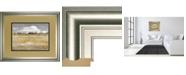 """Classy Art Meadow Shimmer II by Nan Framed Print Wall Art, 34"""" x 40"""""""