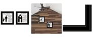 "Trendy Decor 4U Trendy Decor 4U My Grandparents are the Best 2-Piece Vignette by Cindy Jacobs, Black Frame, 15"" x 15"""