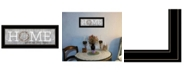 """Trendy Decor 4U Home - Where Our Story Begins by Marla Rae, Ready to hang Framed Print, Black Frame, 27"""" x 11"""""""