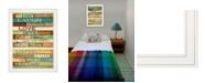 "Trendy Decor 4U Live Joyfully by Marla Rae, Ready to hang Framed print, White Frame, 21"" x 27"""