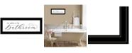 "Trendy Decor 4U No Selfies in the Bathroom by Lori Deiter, Ready to hang Framed Print, Black Frame, 23"" x 11"""