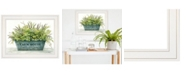 "Trendy Decor 4U Farmhouse by Cindy Jacobs, Ready to hang Framed Print, White Frame, 19"" x 15"""