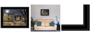 "Trendy Decor 4U Sleepy Hollow Bridge by Billy Jacobs, Ready to hang Framed Print, Black Frame, 19"" x 15"""