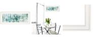 "Trendy Decor 4U Dreamy Meadow by Lori Deiter, Ready to hang Framed Print, White Frame, 27"" x 11"""