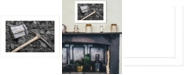 "Trendy Decor 4U Coal Mining by Lori Deiter, Ready to hang Framed Print, White Frame, 20"" x 14"""
