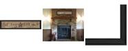"Trendy Decor 4U Sit Long, Talk Much By Gail Eads, Printed Wall Art, Ready to hang, Black Frame, 39"" x 9"""