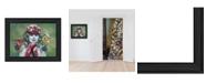 "Trendy Decor 4U Snow Sister by Kim Norlien, Ready to hang Framed Print, Black Frame, 20"" x 14"""