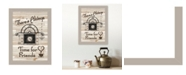 "Trendy Decor 4U Trendy Decor 4U Time for Friends by Millwork Engineering, Ready to hang Framed Print, Sand Frame, 10"" x 14"""
