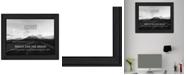 "Trendy Decor 4U Goals By Trendy Decor4U, Printed Wall Art, Ready to hang, Black Frame, 19"" x 15"""