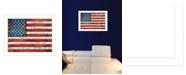 "Trendy Decor 4U Pledge of Allegiance By Marla Rae, Printed Wall Art, Ready to hang, White Frame, 26"" x 20"""