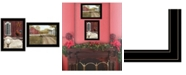 "Trendy Decor 4U Trendy Decor 4U Good Morning 2-Piece Vignette by Billy Jacobs, Black Frame, 19"" x 15"""
