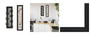 """Trendy Decor 4U Come On In 2-Piece Vignette with 7-Peg Mug Rack by Millwork Engineering, Black Frame, 7"""" x 32"""""""