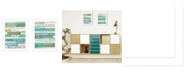 """Trendy Decor 4U Live in The Present Collection By Marla Rae, Printed Wall Art, Ready to hang, White Frame, 14"""" x 18"""""""