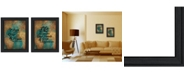 """Trendy Decor 4U World Traveler Collection By Susan Ball, Printed Wall Art, Ready to hang, Black Frame, 30"""" x 19"""""""