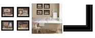 Trendy Decor 4U Trendy Decor 4U BATHROOM COLLECTION I 4-Piece Vignette by Pam Britton Collection