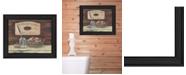 "Trendy Decor 4U Handmade Soaps By Pam Britton, Printed Wall Art, Ready to hang, Black Frame, 13"" x 16"""