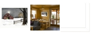 """Trendy Decor 4U Trendy Decor 4U Light in the Stable by Billy Jacobs, Ready to hang Framed Print, White Frame, 26"""" x 20"""""""