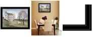 "Trendy Decor 4U Trendy Decor 4U Spring at White House Farm by Billy Jacobs, Ready to hang Framed Print, Black Frame, 27"" x 21"""