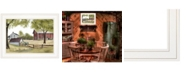"""Trendy Decor 4U The Old Spring House by Billy Jacobs, Ready to hang Framed Print, White Frame, 19"""" x 15"""""""