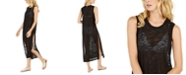Calvin Klein Burnout Maxi Dress Swim Cover-Up, Created For Macy's