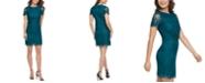kensie Scallop Lace Sheath Dress