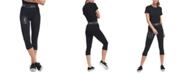 Lids DKNY Women's Pittsburgh Steelers Karan Capri Leggings
