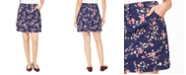 Karen Scott Sharon Floral-Print Skort, Created For Macy's