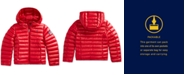 Polo Ralph Lauren Big Girls Packable Quilted Down Jacket
