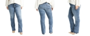 Silver Jeans Co. Trendy Plus Size Elyse Slim-Fit Bootcut Jeans