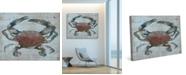 "Creative Gallery Rusty Auburn Crab 36"" x 24"" Canvas Wall Art Print"