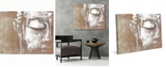 "Creative Gallery Neutral Painted Serene Buddha 20"" x 16"" Canvas Wall Art Print"