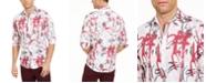 INC International Concepts INC Men's Graffiti Heart Printed Shirt, Created For Macy's