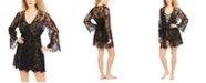 INC International Concepts INC Floral Lace Wrap Robe, Created For Macy's