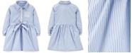 Carter's Toddler Girls Cotton Poplin Striped Shirtdress