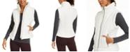 Calvin Klein Fleece-Trimmed Quilted Vest
