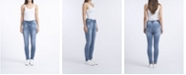 Rubberband Stretch Ladies Mid-Rise Skinny Jeans