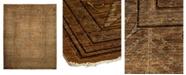 "Timeless Rug Designs One of a Kind OOAK951 Mocha 11'10"" x 14'9"" Area Rug"