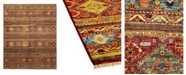 "Timeless Rug Designs CLOSEOUT! One of a Kind OOAK1123 Caramel 8'10"" x 12'2"" Area Rug"