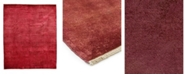 "Timeless Rug Designs CLOSEOUT! One of a Kind OOAK3919 Raspberry 6' x 8'10"" Area Rug"