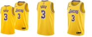 Nike Men's Anthony Davis Los Angeles Lakers Icon Swingman Jersey