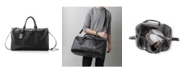 Cathy's Concepts Personalized Vegan Leather Transport Duffle