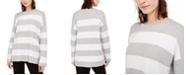 Eileen Fisher Cotton Striped Sweater