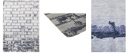 """Timeless Rug Designs CLOSEOUT! One of a Kind OOAK289 Gray 10'2"""" x 14'1"""" Area Rug"""
