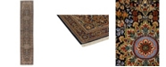 """Timeless Rug Designs CLOSEOUT! One of a Kind OOAK607 Mocha 2'7"""" x 12'9"""" Runner Rug"""
