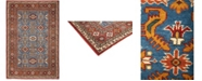 """Timeless Rug Designs CLOSEOUT! One of a Kind OOAK700 Red 6'2"""" x 9'1"""" Area Rug"""