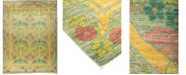 """Timeless Rug Designs CLOSEOUT! One of a Kind OOAK853 Lime 9'9"""" x 13'2"""" Area Rug"""