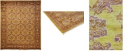 """Timeless Rug Designs CLOSEOUT! One of a Kind OOAK3631 Caramel 8'2"""" x 10'1"""" Area Rug"""