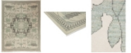"""Timeless Rug Designs CLOSEOUT! One of a Kind OOAK3545 Bone 9'1"""" x 11'9"""" Area Rug"""